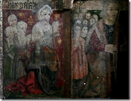 Chancel screen - donor John Bacon wife & 14 children Fritton