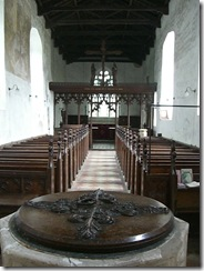Fritton Church - interior