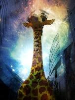 Berlin Potsdamer Platz Lego giraffe