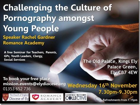 Pornography Poster - Seminar Event November 2016 (4)