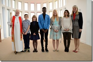 CSK Confirmation_Group Picture with Bishop David Thomson and Rev Sylvia Kinder